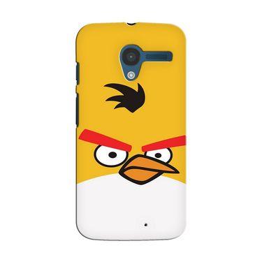 Snooky 35893 Digital Print Hard Back Case Cover For Motorola Moto X - Yellow
