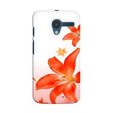 Snooky 35894 Digital Print Hard Back Case Cover For Motorola Moto X - White