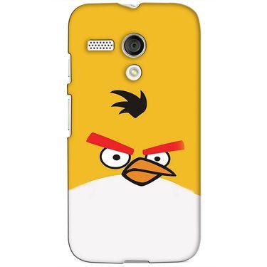 Snooky 38613 Digital Print Hard Back Case Cover For Motorola Moto G - Yellow