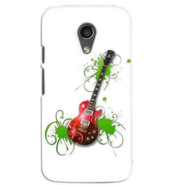 Snooky 38651 Digital Print Hard Back Case Cover For Motorola Moto G 2nd Gen - White
