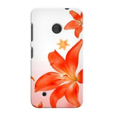 Snooky 38014 Digital Print Hard Back Case Cover For Nokia Lumia 530 - White