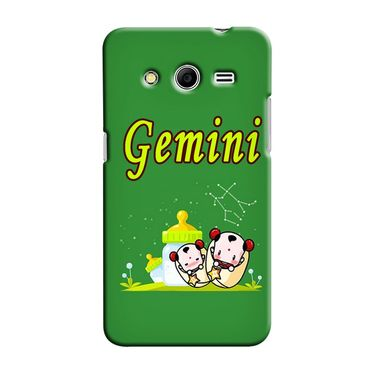 Snooky 35456 Digital Print Hard Back Case Cover For Samsung Galaxy Core 2 - Green