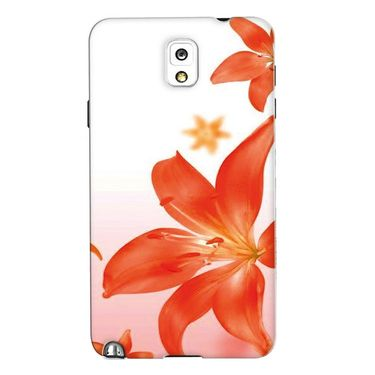 Snooky 35683 Digital Print Hard Back Case Cover For Samsung Galaxy Note 3 N900  - White