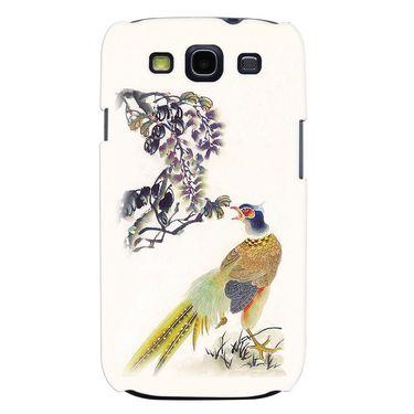 Snooky 35685 Digital Print Hard Back Case Cover For Samsung Galaxy S3 I9300 - Cream