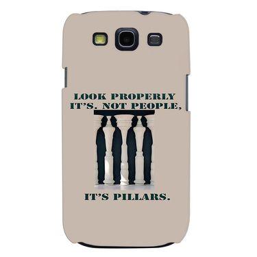 Snooky 35718 Digital Print Hard Back Case Cover For Samsung Galaxy S3 I9300 - Cream