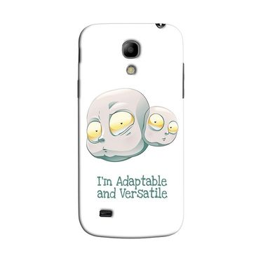 Snooky 35761 Digital Print Hard Back Case Cover For Samsung Galaxy S4 Mini I9192 - White