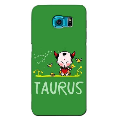 Snooky 36180 Digital Print Hard Back Case Cover For Samsung Galaxy S6 - Green