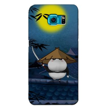 Snooky 36260 Digital Print Hard Back Case Cover For Samsung Galaxy S6 Edge - Blue
