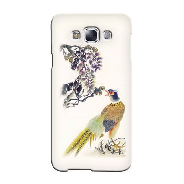 Snooky 36266 Digital Print Hard Back Case Cover For Samsung Galaxy A3 - Cream