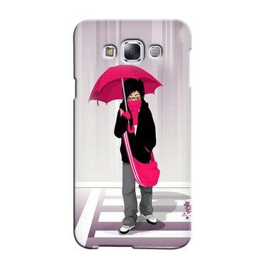 Snooky 36374 Digital Print Hard Back Case Cover For Samsung Galaxy A7 - Multicolour