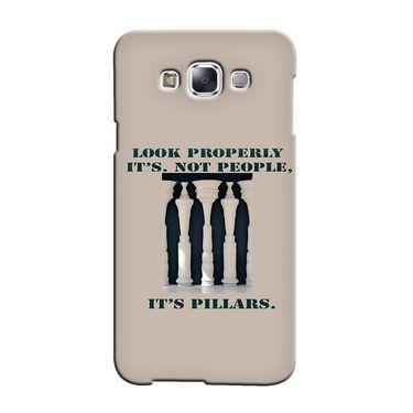Snooky 36399 Digital Print Hard Back Case Cover For Samsung Galaxy A7 - Cream