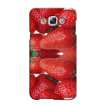 Snooky 36409 Digital Print Hard Back Case Cover For Samsung Galaxy A7 - Red