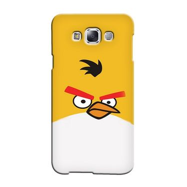 Snooky 36463 Digital Print Hard Back Case Cover For Samsung Galaxy E5 - Yellow