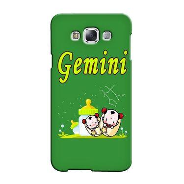 Snooky 36487 Digital Print Hard Back Case Cover For Samsung Galaxy E7 - Green