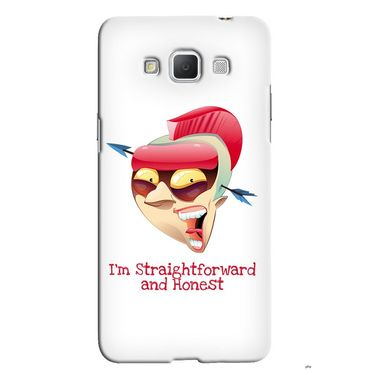 Snooky 36544 Digital Print Hard Back Case Cover For Samsung Galaxy Grand max - White