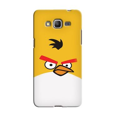 Snooky 36613 Digital Print Hard Back Case Cover For Samsung Galaxy Grand Prime - Yellow