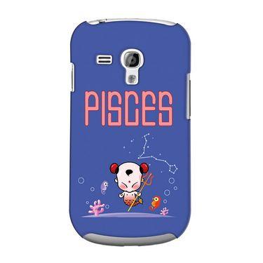 Snooky 36839 Digital Print Hard Back Case Cover For Samsung Galaxy S3 Mini - Purple