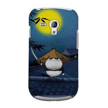 Snooky 36860 Digital Print Hard Back Case Cover For Samsung Galaxy S3 Mini - Blue