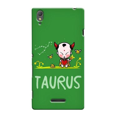Snooky 36980 Digital Print Hard Back Case Cover For Sony Xperia T3 - Green