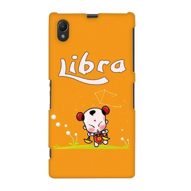 Snooky 37085 Digital Print Hard Back Case Cover For Sony Xperia Z1 - Yellow
