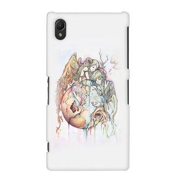 Snooky 37156 Digital Print Hard Back Case Cover For Sony Xperia Z2 - Multicolour