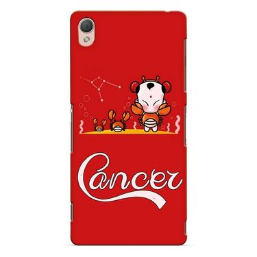 Snooky 37182 Digital Print Hard Back Case Cover For Sony Xperia Z3 - Red