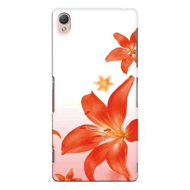 Snooky 37214 Digital Print Hard Back Case Cover For Sony Xperia Z3 - White