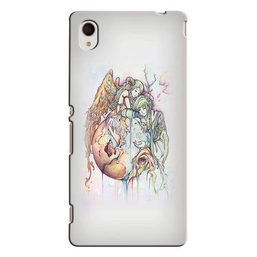 Snooky 37856 Digital Print Hard Back Case Cover For Sony Xperia M4 AQUA DUAL - Multicolour