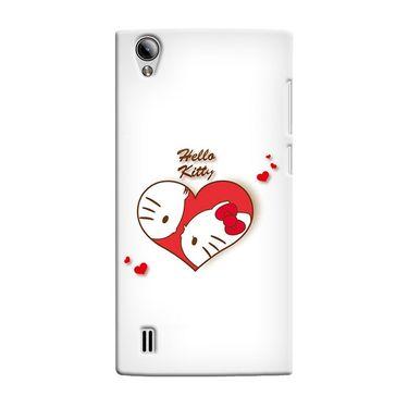 Snooky 37550 Digital Print Hard Back Case Cover For Vivo Y15 - White
