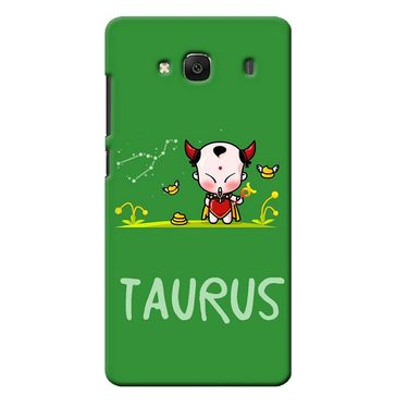 Snooky 36010 Digital Print Hard Back Case Cover For Xiaomi Redmi 2s - Green