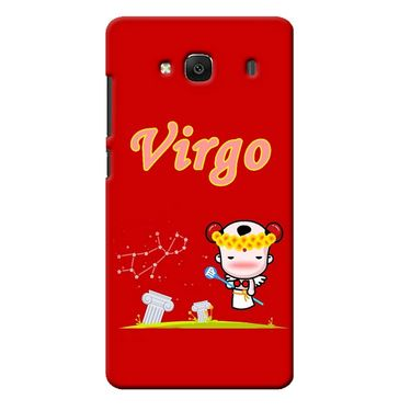 Snooky 36018 Digital Print Hard Back Case Cover For Xiaomi Redmi 2s - Red
