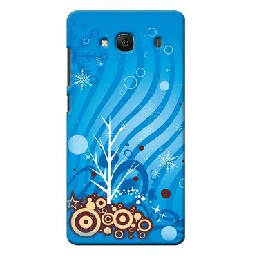 Snooky 36042 Digital Print Hard Back Case Cover For Xiaomi Redmi 2s - Blue