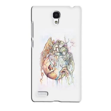Snooky 36086 Digital Print Hard Back Case Cover For Xiaomi Redmi Note - Multicolour