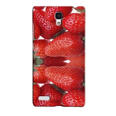 Snooky 36089 Digital Print Hard Back Case Cover For Xiaomi Redmi Note - Red