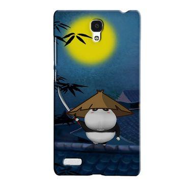 Snooky 36090 Digital Print Hard Back Case Cover For Xiaomi Redmi Note - Blue