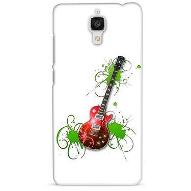 Snooky 38451 Digital Print Hard Back Case Cover For Xiaomi MI 4 - White