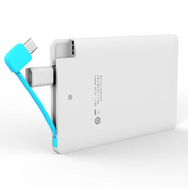 UNIC 3500mAh Lithium Polymer Battery Slimmest Lightning Power Bank UNS5 - White
