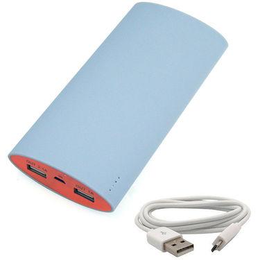 UNIC 15000mah Shake & Charge Dual USB Powerbank Portable Charger UN65 - Grey