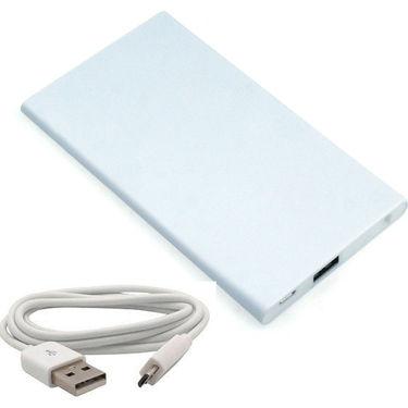 UNIC 3000mAh Lithium Polymer Battery Slimmest Lightning Power Bank UNS3 - White