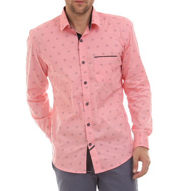 Bendiesel Printed Cotton Shirt_Bdc0102 - Pink