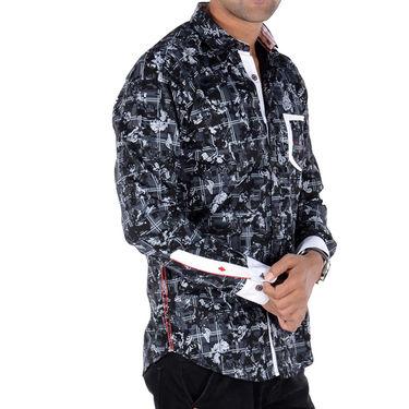 Bendiesel Printed Cotton Shirt_Bdc094 - Multicolor