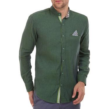 Bendiesel Plain Cotton Shirt_Bdcc015 - Green