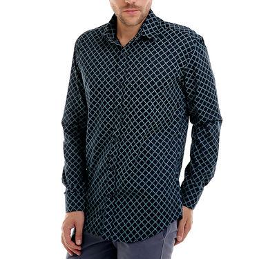 Bendiesel Printed Cotton Shirt_Bdf055 - Black