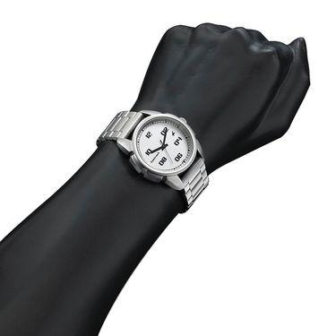 Fastrack Analog Watch_ 3124sm01 - Silver