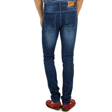 Cotton Jeans For Men_D2008 - Dark Blue