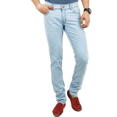 Cotton Jeans For Men_Di2011 - Sky Blue