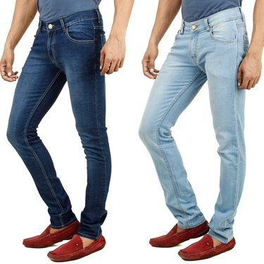 Pack of 2 Cotton Jeans For Men_F200892