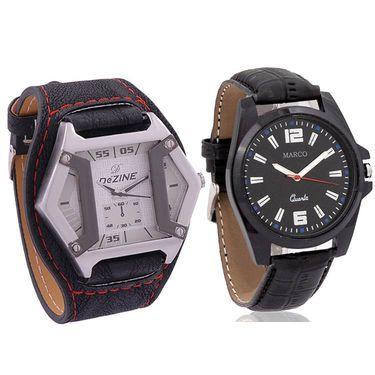 Combo of Dezine Watch + Marco Wrist Watch_Combo16