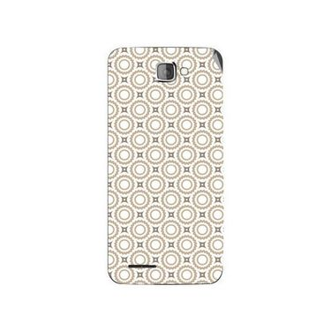 Snooky 40375 Digital Print Mobile Skin Sticker For Micromax Canvas Mad A94 - Brown