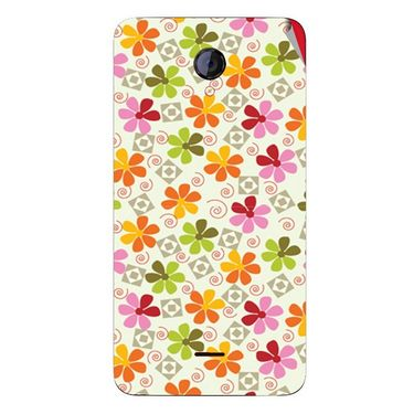 Snooky 40418 Digital Print Mobile Skin Sticker For Micromax Unite 2 A106 - White